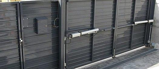 puertas automatismos puertas batientes - Reparar Puertas de Parking Garaje